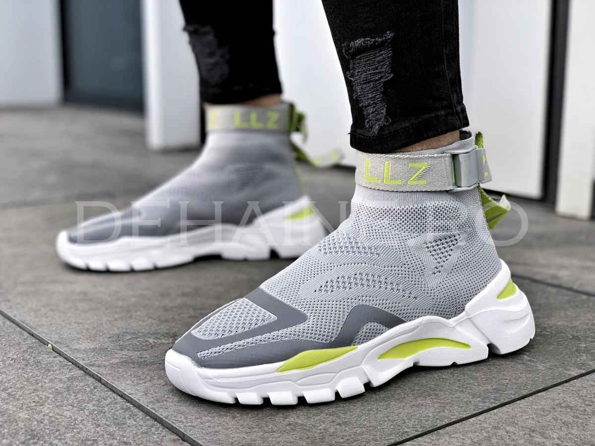 Sneakers barbati LZZ gri ZR A8592