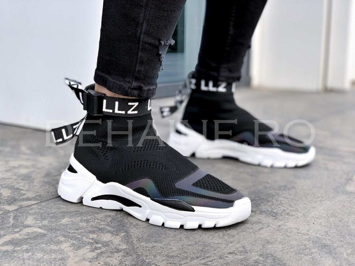Sneakers barbati LZZ negri ZR A8593
