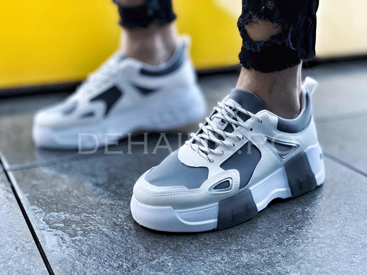 Sneakers barbati Y albi ZR A855