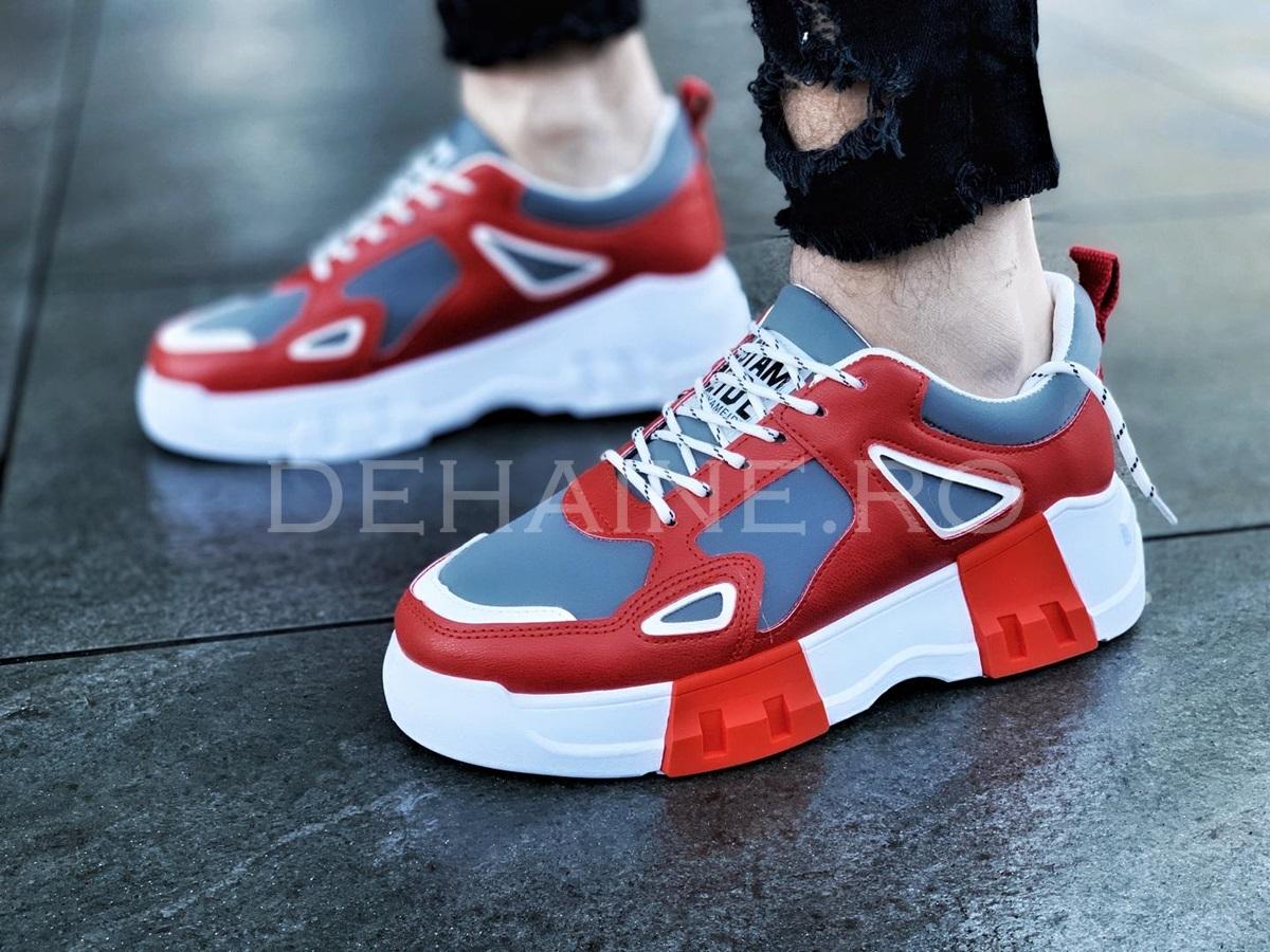 Sneakers barbati Y rosii ZR A8547