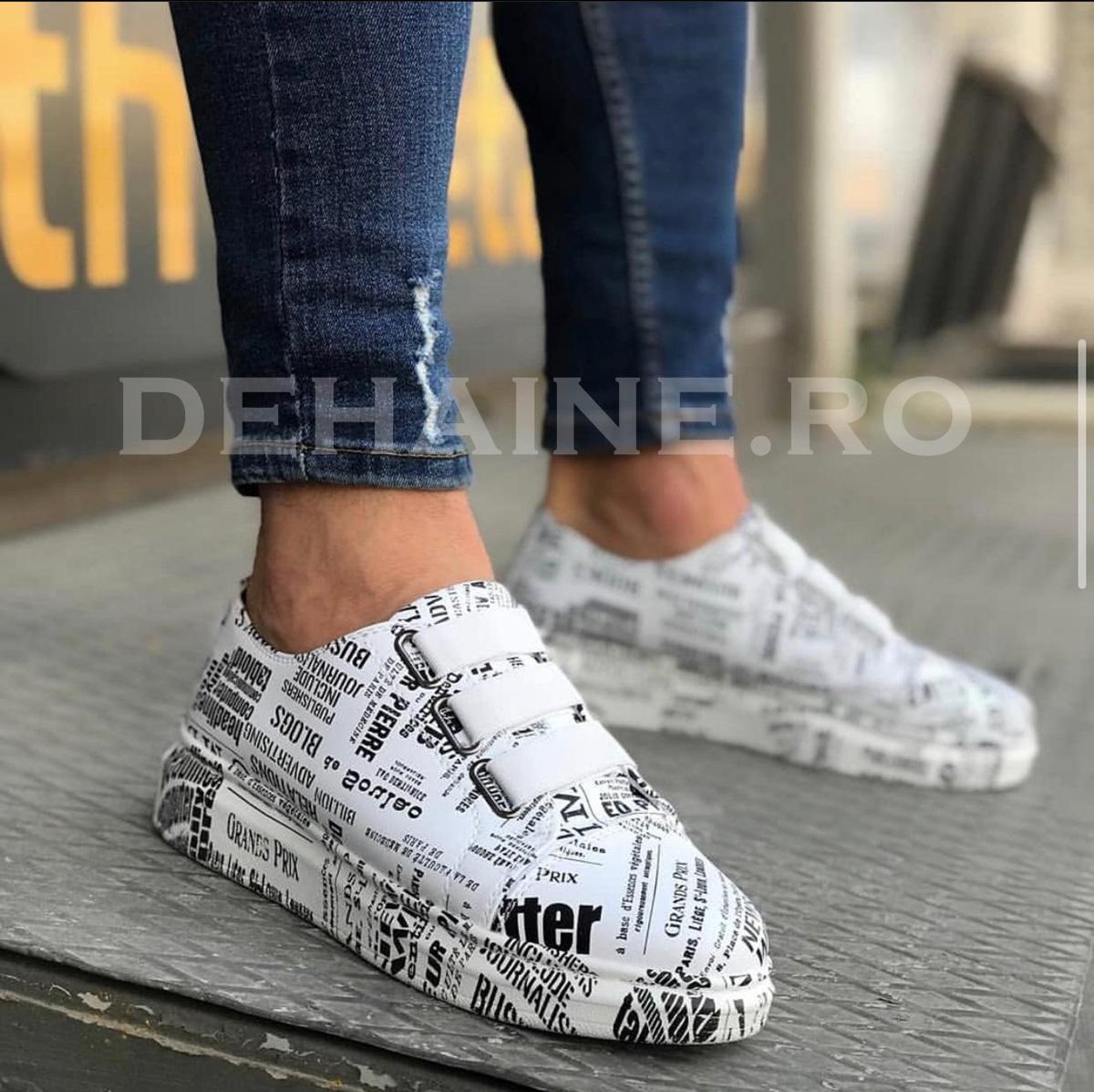 Adidasi barbati casual cu imprimeu ZR A6517