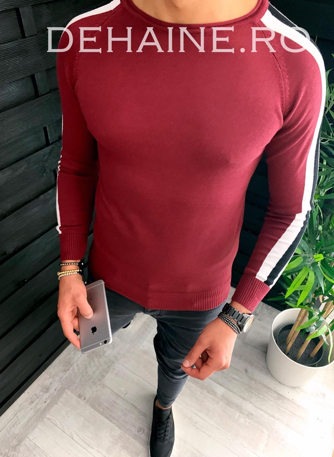 Bluza barbati slim fit grena ZR 3650 O2-1