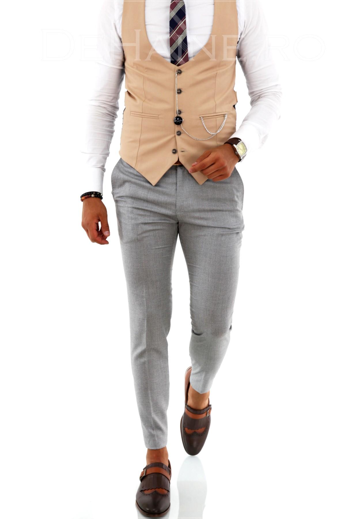 Pantaloni barbati eleganti ZR A2000 J4-1