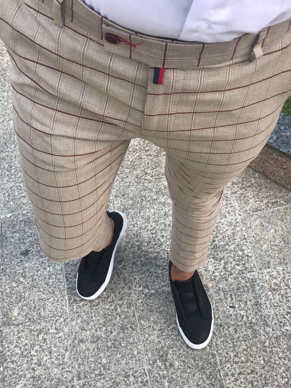 Pantaloni barbati eleganti ZR A1273 J4-1