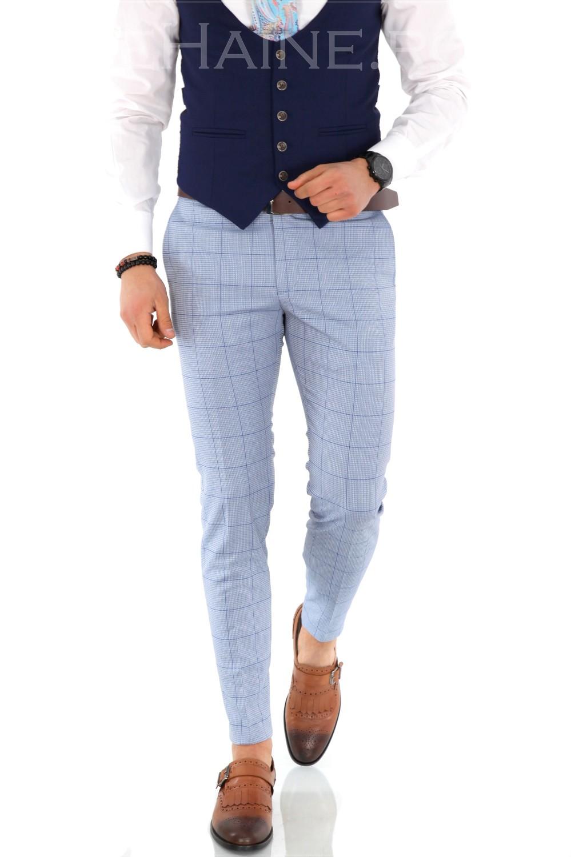 Pantaloni barbati eleganti ZR A1171 A-6
