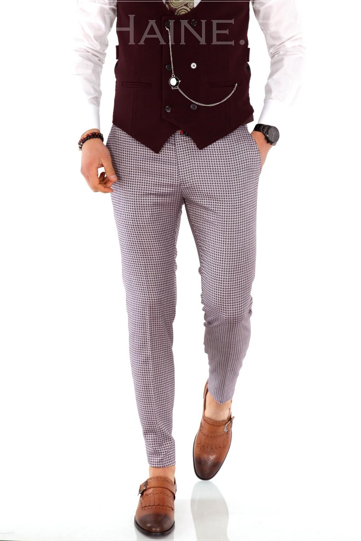 Pantaloni barbati eleganti ZR A1177 A-4