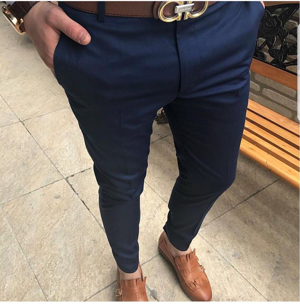Pantaloni barbati eleganti ZR A1087 B2-4