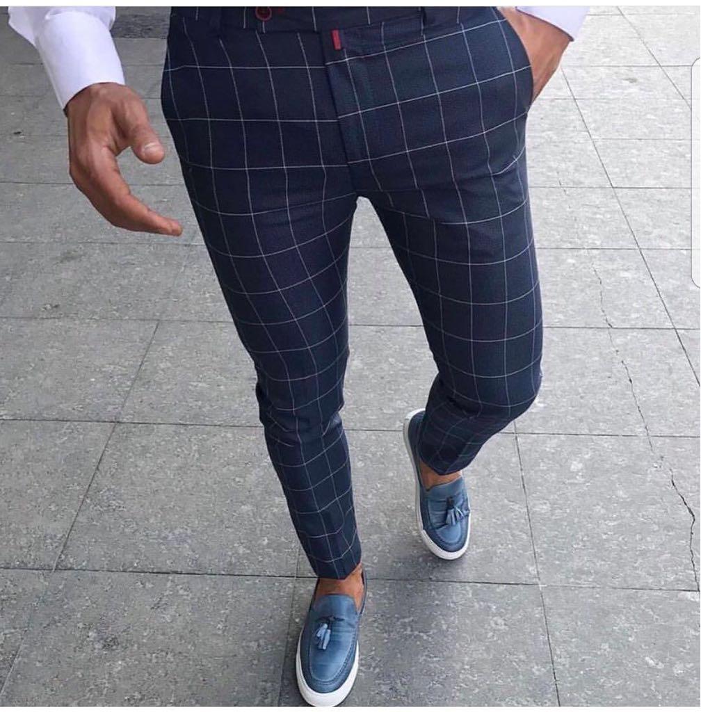 Pantaloni barbati eleganti ZR A1086 J4-1