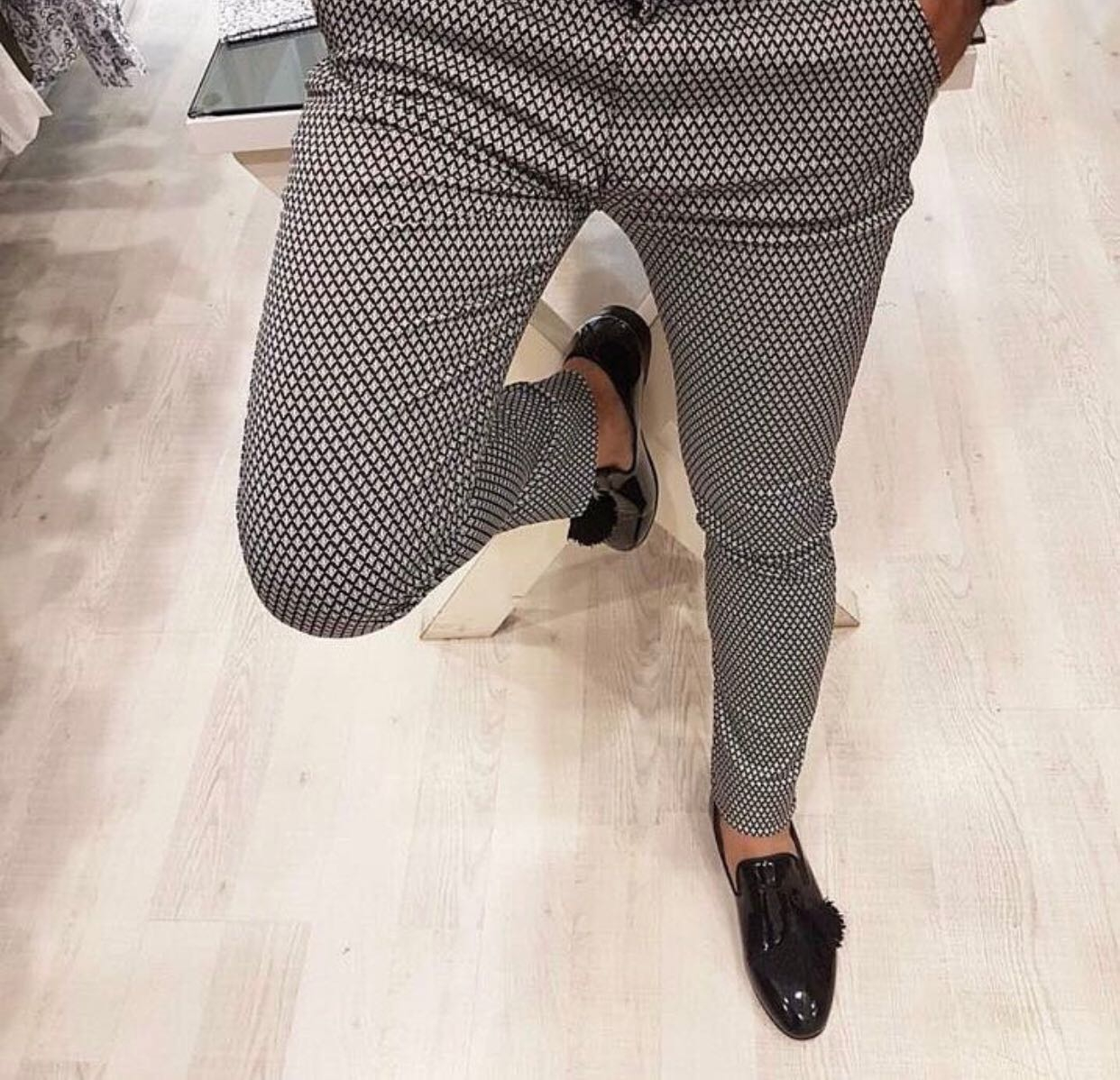 Pantaloni barbati eleganti ZR A1060 B2-1