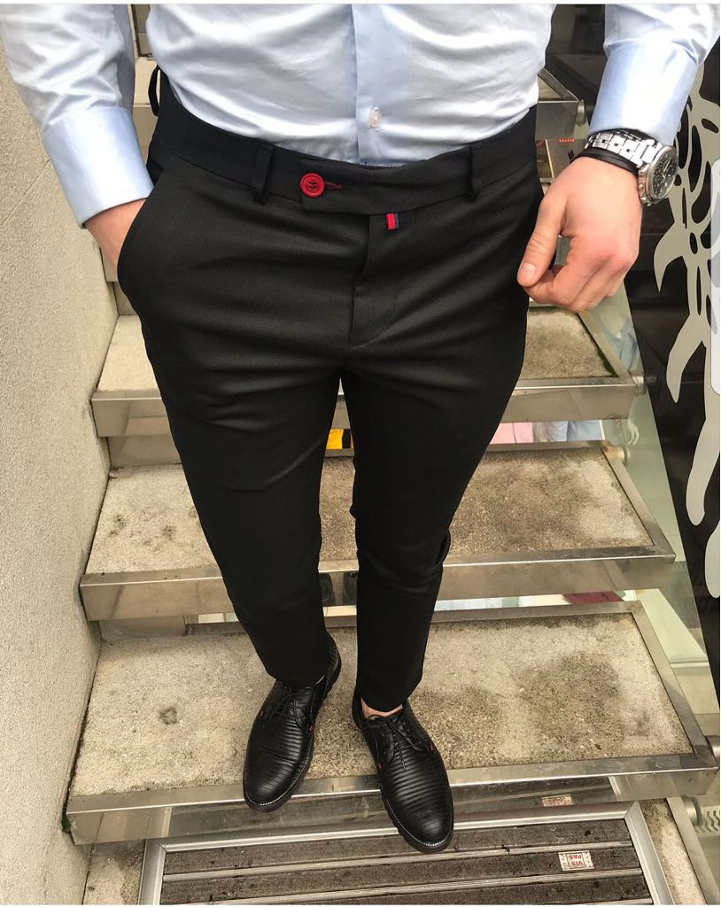 Pantaloni barbati eleganti ZR A1040 B1-4