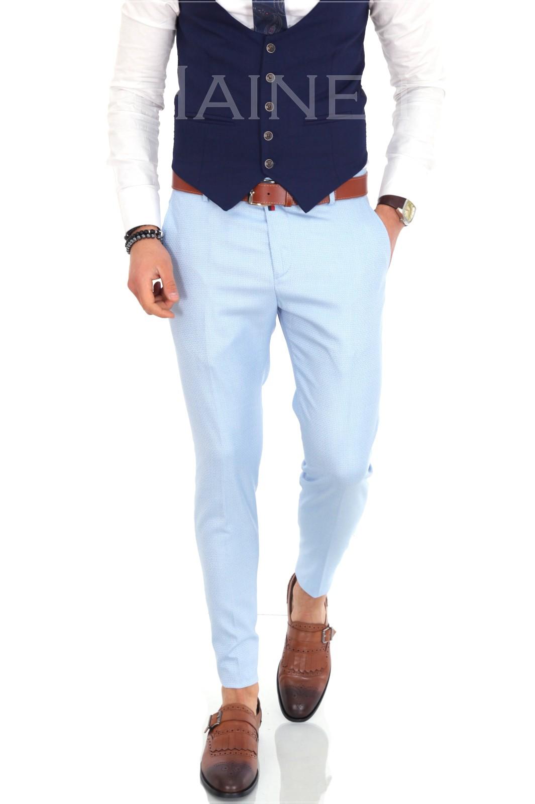 Pantaloni barbati eleganti ZR 9880 J4-1