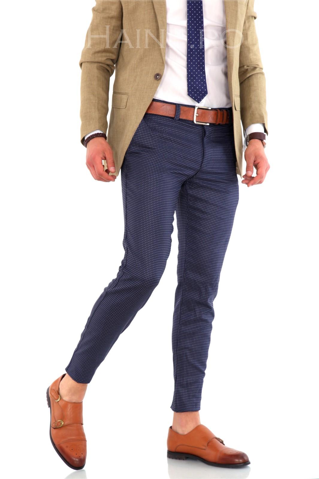 Pantaloni barbati eleganti ZR 8415 A1-8