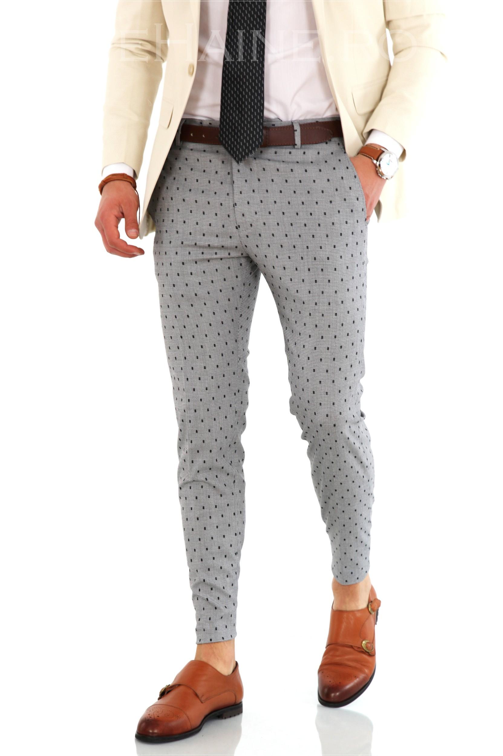 Pantaloni barbati eleganti ZR 8146 B-3