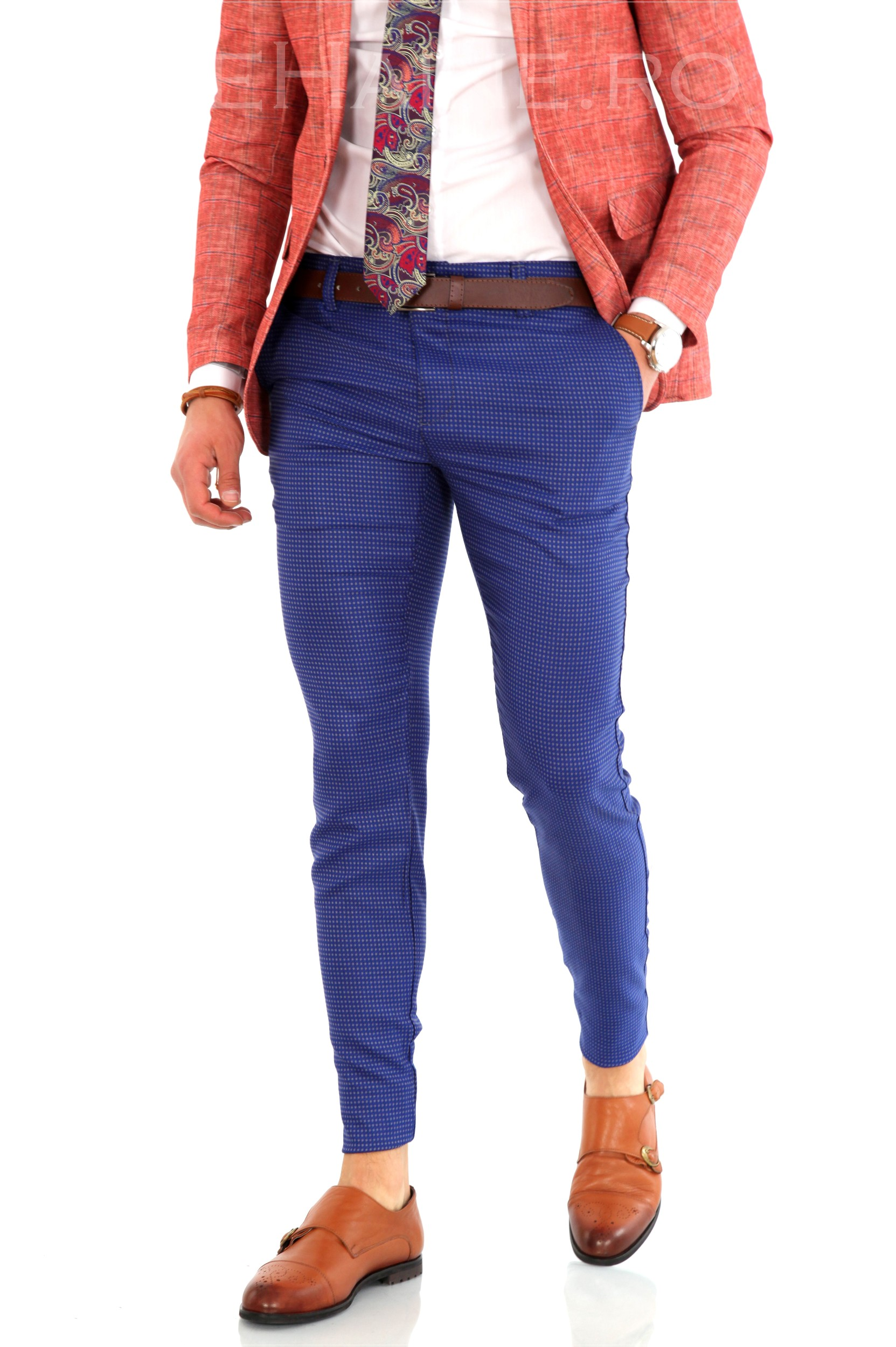 Pantaloni barbati eleganti ZR 8151 J4-1