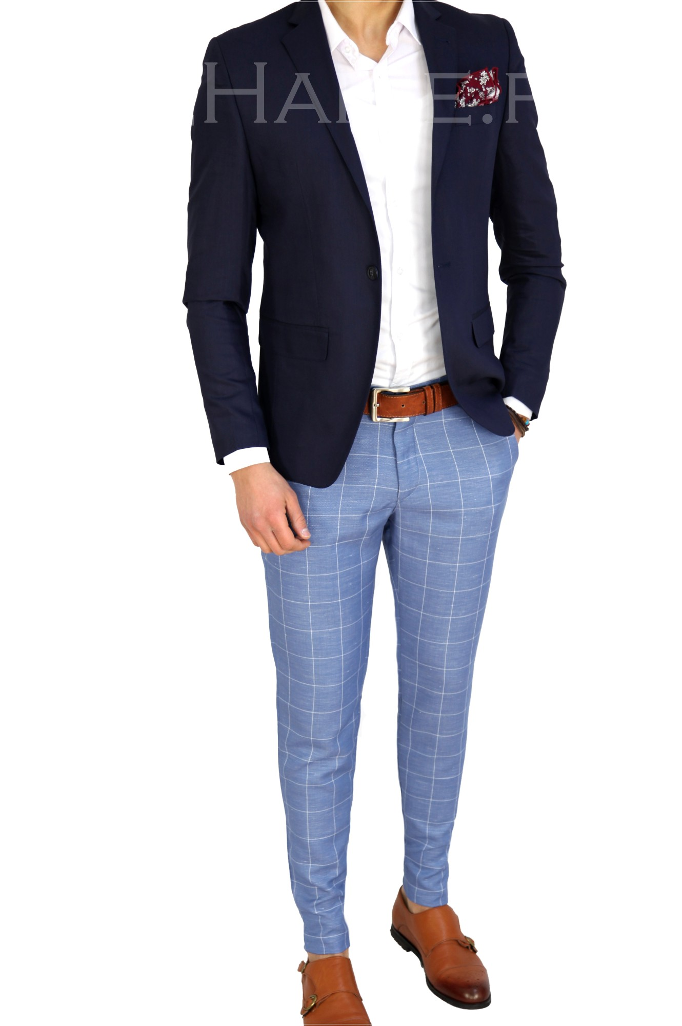 Sacou barbati slim fit ZR 7782 R8-1