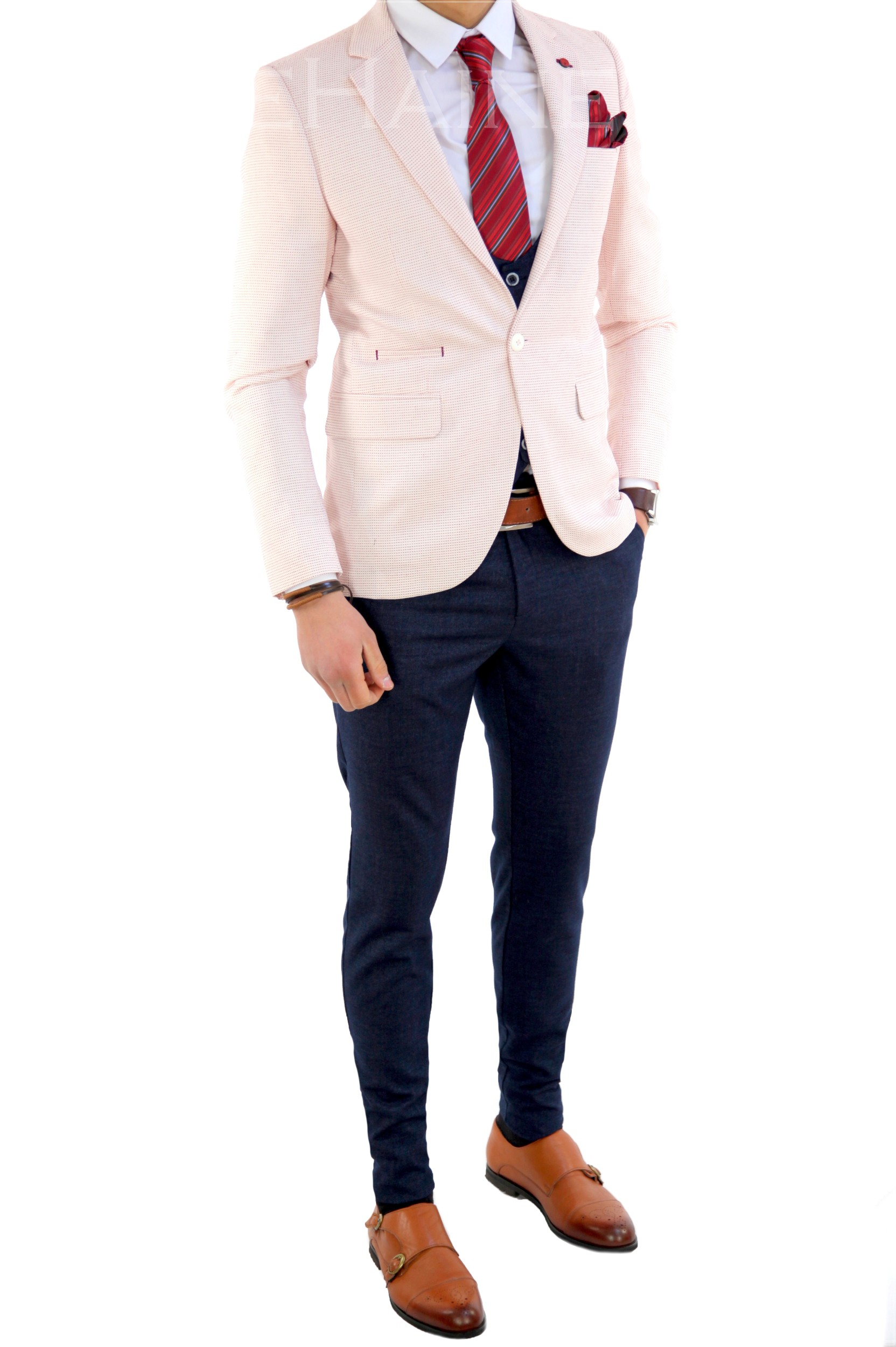 Sacou barbati slim fit ZR 7761